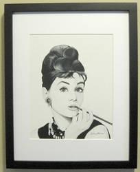 Audrey Framed
