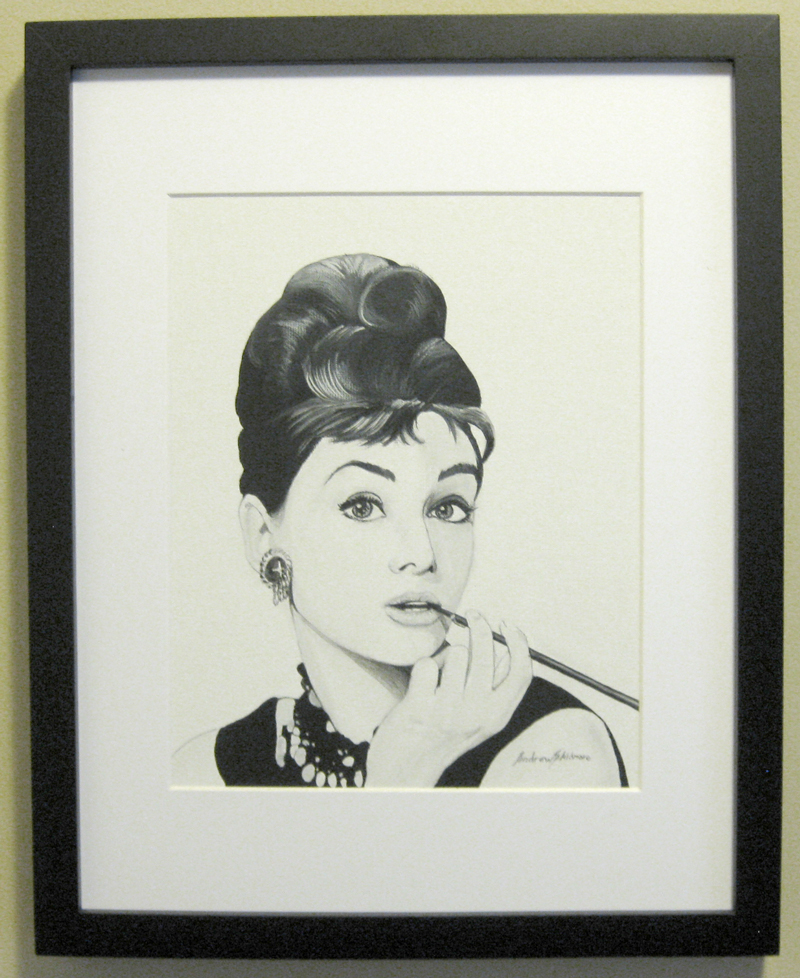 Audrey Framed by ExtremeSi