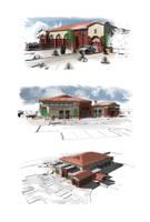 Kingman Firestation Renders by illmatic1