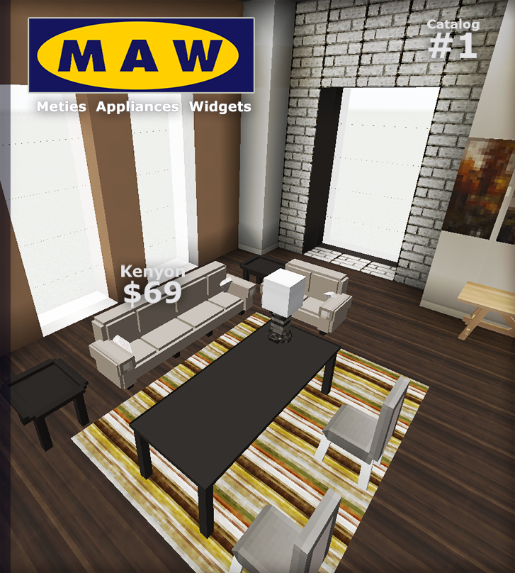 M A W A Minecraft Furniture Mod By Metie On Deviantart