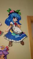 Touhou Character 8 - Tenshi Hinanai by MagicPearls