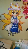 Touhou Character 17 - Ran Yakumo by MagicPearls