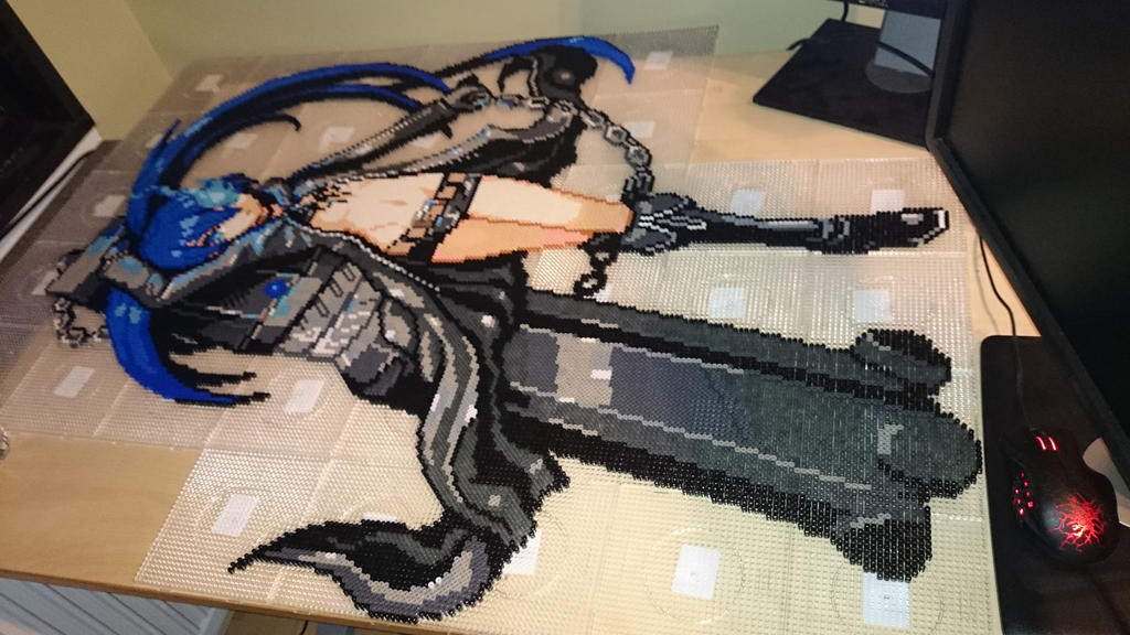 BRS 4 - Ready for ironing (WIP) by MagicPearls