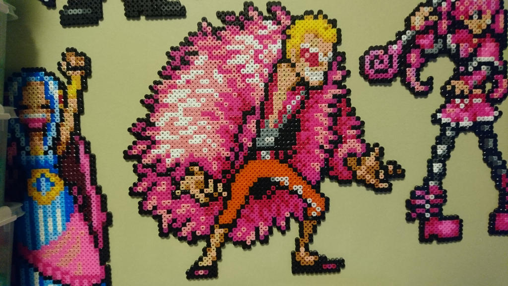 One Piece Character #27. Donquixote Doflamingo by MagicPearls