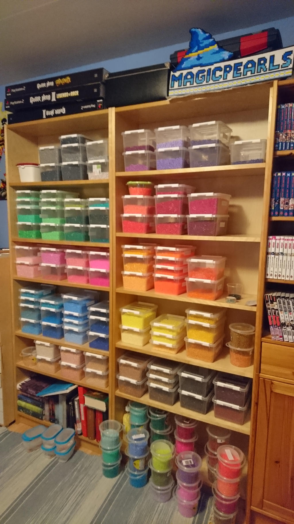 My bead storage by MagicPearls