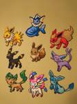 Pokemon #31-38 - Eevee and all Eeveelutions