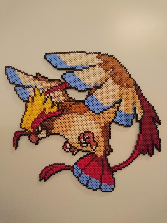 Pokemon #39 - Mega Pidgeot by MagicPearls