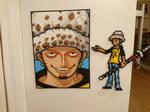 One Piece Character #18. Trafalgar Law (redone)