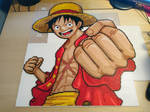 Luffy 5 - Just before ironing! (WIP)