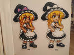 Touhou Character 4 - Marisa Kirisame (redone) by MagicPearls