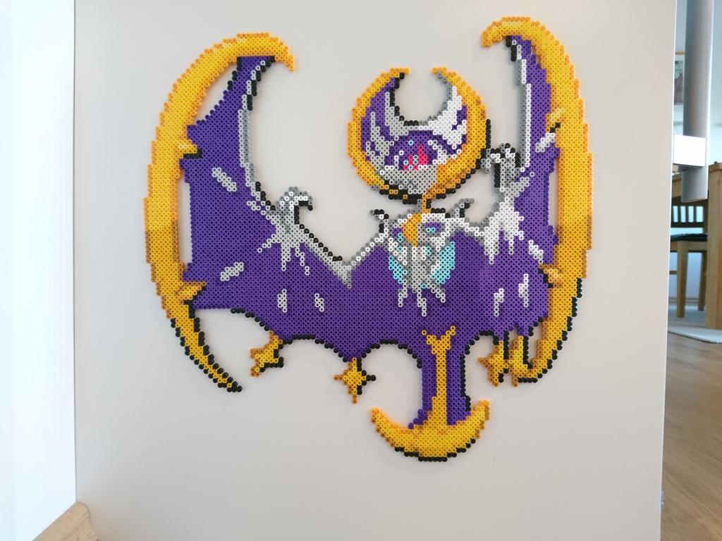 Pikachu Solgaleo Pixel Art