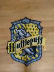 Hufflepuff emblem/shield from Harry Potter