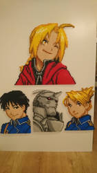 Alphonse Elric semi-portrait by MagicPearls