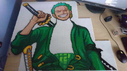 Zoro 3 - Final stretch... (WIP) by MagicPearls