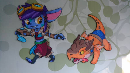 Dragon Trainer Tristana from League of Legends by MagicPearls