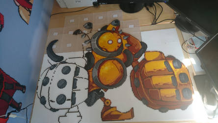 Blitzcrank 2 - Halfway there! by MagicPearls