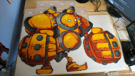 Blitzcrank 3 - Almost done, looking fine! by MagicPearls