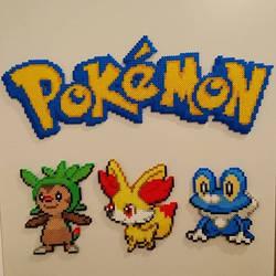 Pokemon #62-64 - Chespin, Fennekin and Froakie
