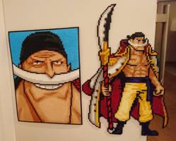 One Piece Character #56. Edward Newgate (redone)