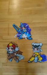 Moemon #21-23 Suicune, Entei and Raikou