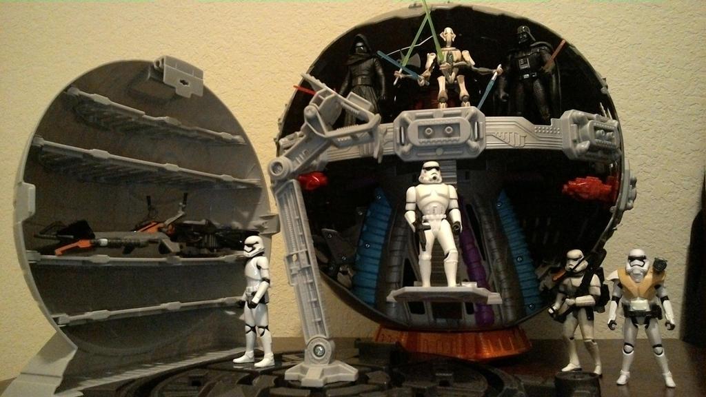 Technodrome Death Star alternatives by wmpyr