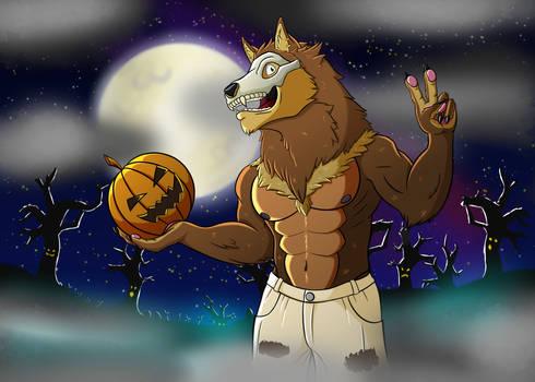 Halloween Wolf