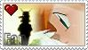 Misty Loves Ash Stamp by KamisStamps