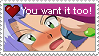You want it to by KamisStamps