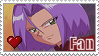 Kojiro - James Stamp by KamisStamps