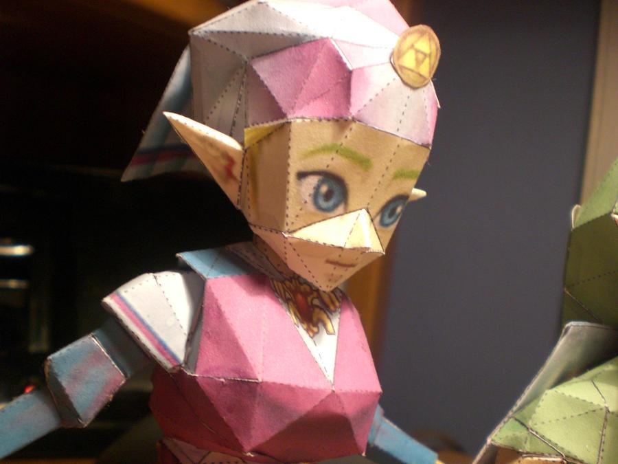 Princess Zelda Papercraft by Majora24