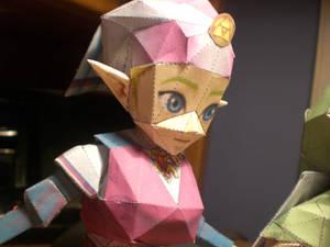 Princess Zelda Papercraft