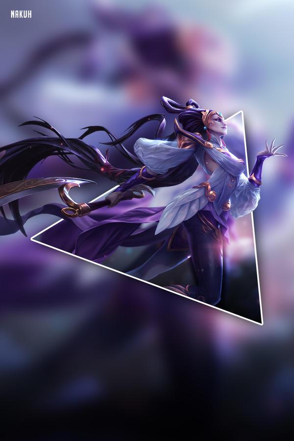 League Of Legends Diana Phone Wallpaper Hd By Nakookie On