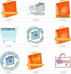 Web shoppin logo