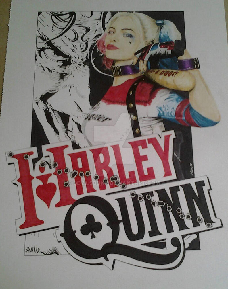Harley Quinn by devilsbone
