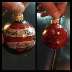 commissioned ornaments