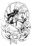 Samurai - Tattoo design