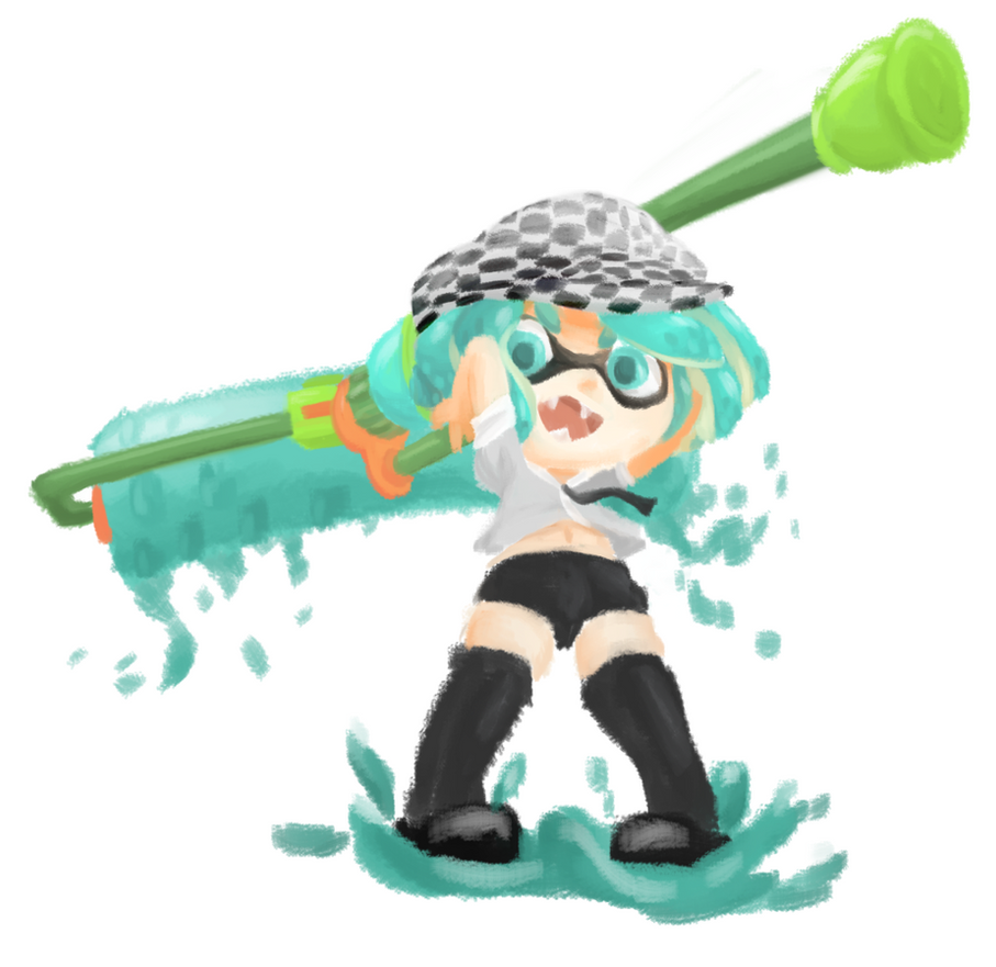 Squidsona by Fychan