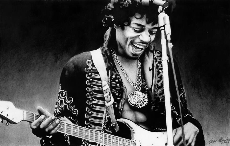 Jimi Hendrix by VegemiteGangsta