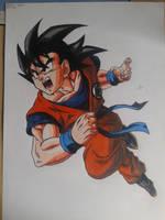 Goku by NatusiiaArt
