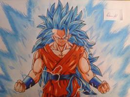 SSGSS Goku by NatusiiaArt