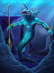 Angler merman