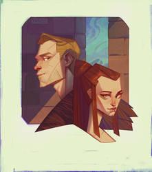 Cullen and Kaleigh by gewska