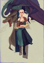 Daenerys by gewska