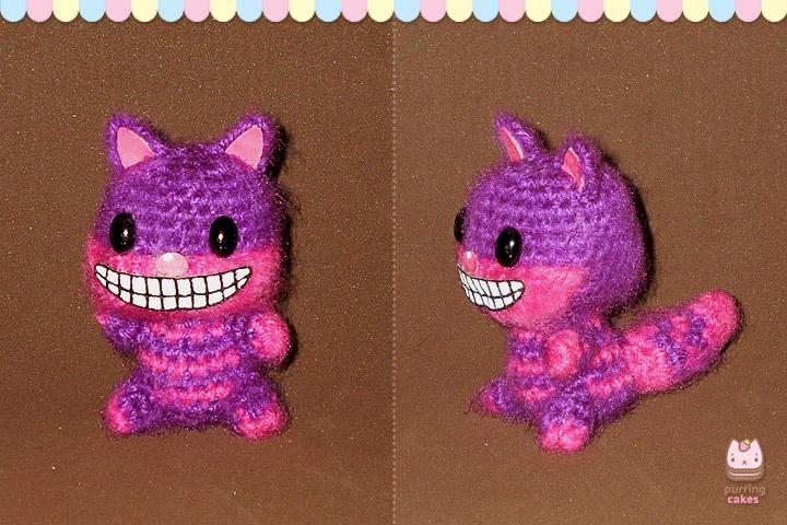 Cheshire Cat Amigurumi Pattern : Amigurumi - Cheshire Cat by PurringCakes on DeviantArt