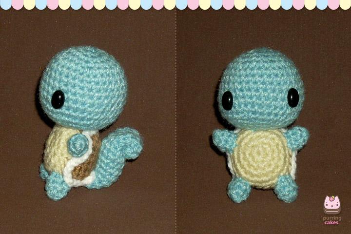 Pokemon Chibi Amigurumi Pattern : Amigurumi - Chibi Squirtle by PurringCakes on DeviantArt