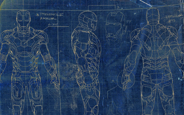 Lovely Leaked Blueprints Of Tony Starks Ironman By Michaellamden68 | Steem