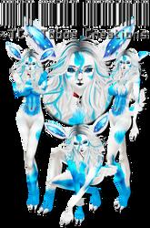 IMVU Custom Ice Prancer