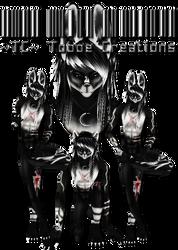IMVU Custom Ezo Wolf Set