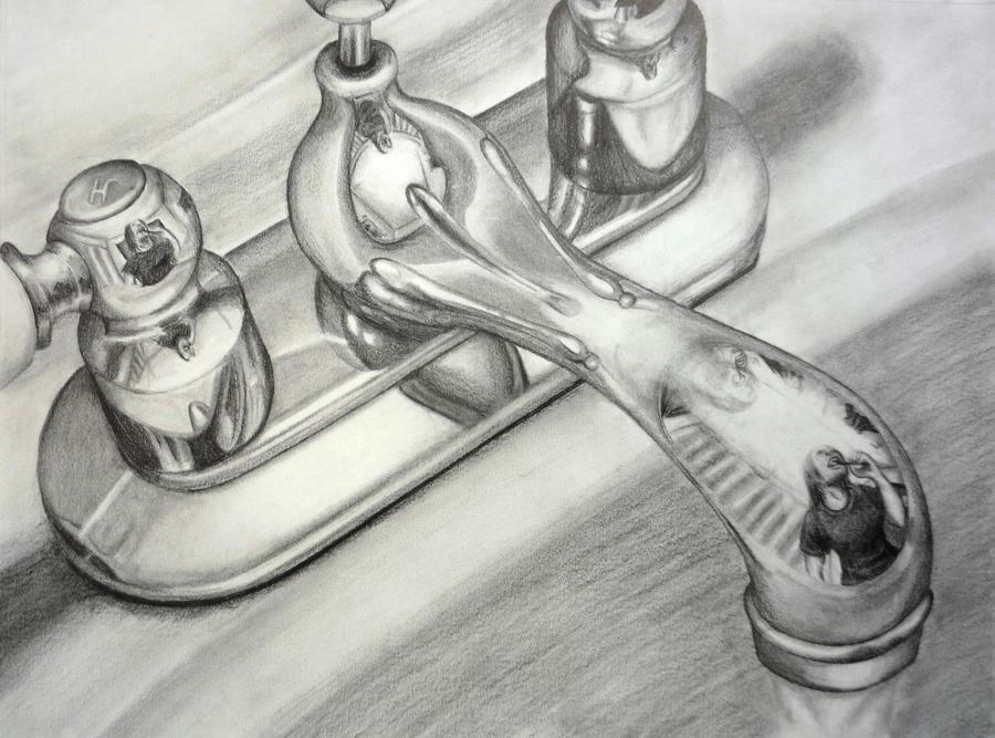 Bathroom Sink By Kuenai On DeviantArt