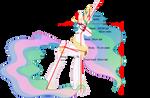 Pony of Vitruvio 7: Princess Celestia